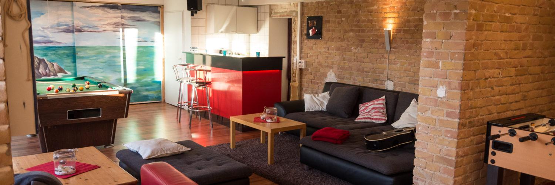 Deine Bar. Euer Event. Unser Wohnzimmer.